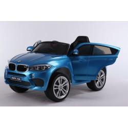 niebieski lakierowny BMW X6...