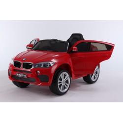 czerwony lakierowny BMW X6...