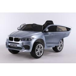 srebrny lakierowny BMW X6...