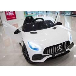 biały MERCEDES GT AMG EVA,...