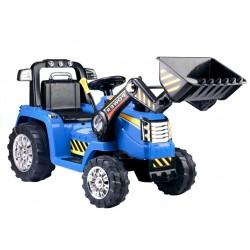 niebieski Traktor Koparka...