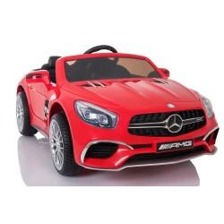 czerwony Mercedes SL65 12V,...