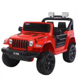 czerwony JEEP SUPER CAR...