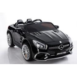 czarny Mercedes SL65 12V,...